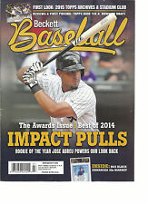 BECKETT BASEBALL,  MARCH, 2015  NO.03  VOL.15  ( THE AWARDS ISSUE * BEST OF 2014