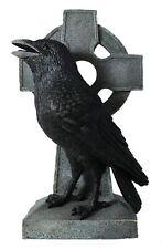 Deko Figur Tierfigur Krähe Rabe schwarz 30 cm 831900