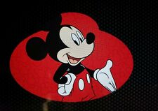 Disney Parks Mickey Mouse Cast Member Name Tag Car Auto Magnet NEW World