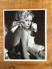 Paris hilton autógrafo original firmado playboy!!!