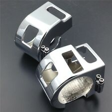 Chrome Switch Housing Cover For Yamaha V-Star XVS 650 Kawasaki Vulcan 1500 1600