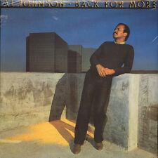 Al Johnson - Back for more (Vinyl LP - 1980 - US - Reissue)