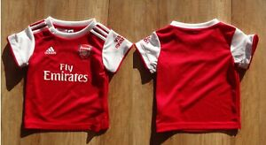 ARSENAL 2020/2021 Kids Adidas shirt jersey Size M 6-9 MONTH 9M  soccer/foootball