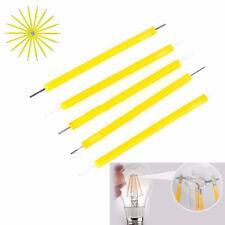 10Pcs Super Bright COB LED Solar Filament Bulb Candle Light Home Lamp Source 3V
