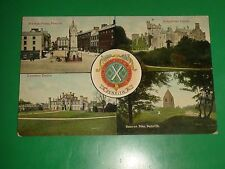 ZU402 Vntg Multi-View PC Greystoke & Lowther Castle Beacon Pike Penrith England