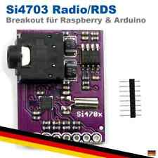 Si4703 Radio FM Tuner Breakout Evaluation RDS RBDS Board Modul Arduino Raspbe...