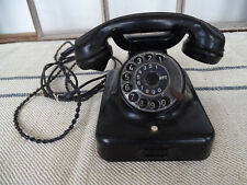 Q7257 viejo teléfono con Dial-baquelita-w48-norte de larga distancia