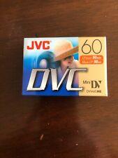 New listing Jvc Mini-Dv Tape 60Me Factory-Sealed