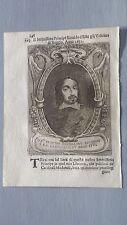 1669 Ritratto di Rinaldo d'Este Vescovo di Reggio Emilia Cardinale Palestrina