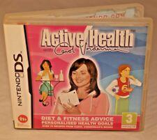 ACTIVE HEALTH WITH CAROL VORDERMAN NINTENDO DS 3DS 2009 EUROPEAN VERSION FITNESS