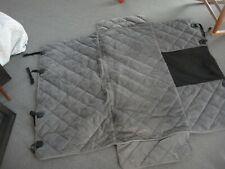 Orvis Grip-Tight Windowed Hammock Back Seat Protector - Compact Car -Slate Gray