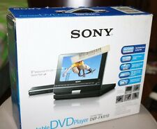 Original Sony DVP-FX810 DVD Player Portable Complete set with box