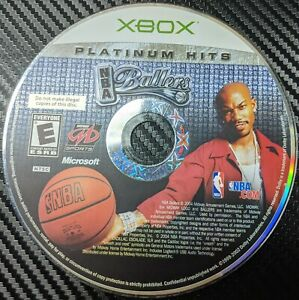 NBA Ballers Platinum Hits -- Extremely Rare - Tested (Microsoft Xbox, 2004)
