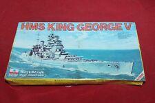 Model Kit ESCI WATERLINE HMS KING GEORGE V scala 1:1200