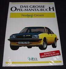 Bildband Das Grosse Opel Manta A / B GT GTE Buch Norbert Giesen NEU 1970 - 1988!