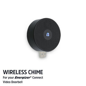Energizer Connect EOD1-1003-CHM Wireless Chime For Video Doorbell (Refurbished)