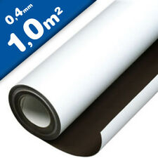 Magnetfolie Eisenfolie Ferroband Glanz 0,6mm x 50mm x Meterware Eisenband