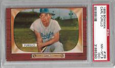 1955 Bowman Baseball #169—Carl Furillo, Brooklyn Dodgers—PSA NM-MT 8 (OC)