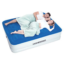 Air Mattress with Built-in Electric Pump and Pillow Queen Size