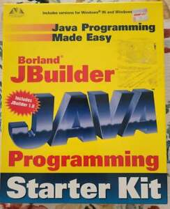 JAVA PROGRAMING MADE EASY BORLAND JBUILDER STARTER KIT INCLUDES 1.0