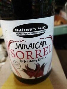 Jamaican          Sorrel Syrup                     750ml