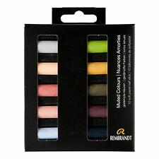 Royal Talens Rembrandt Demi Bâton Doux Pastels Set de 10 Silencieux Couleurs