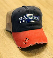 CHEVROLET Hat Cap Adjustable Chevy Mesh Embroidered Patch Style Racing Truck RWB
