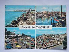 Saluti da CAORLE vedutine Venezia vecchia cartolina