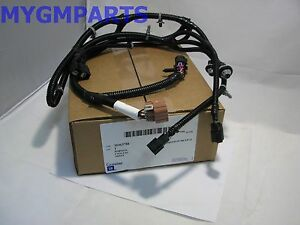 SILVERADO SIERRA PARK ASSIST WIRING HARNESS W/LICENSE LIGHT 2007-2013 10363788