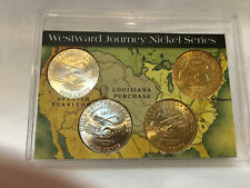 2004-P&D Westward Journey Nickel Series Louisiana Purchase 5 Cent Coins - NEW
