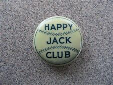 >orig. early 1900's New York Highlanders JACK CHESBRO Antique Baseball Pinback