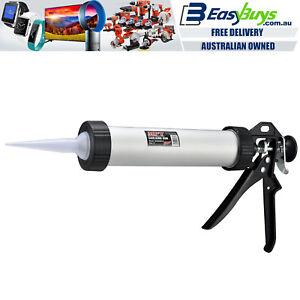 "MPT Caulking Gun Professional 230mm 9"" H/Duty Aluminium Sausage Silicone Glue"