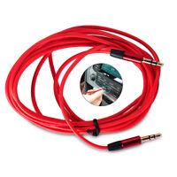 3,5mm Stereo Klinken Audio Klinke AUX Kabel Stecker für Phone MP3 Auto Handy
