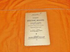 mons. cauly corso di istruzione religiosa vol. 1° dogma 1931