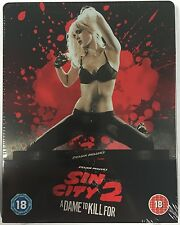 Sin City 2: A Dame To Kill For Steelbook - UK Exclusive Blu-Ray -Shrinkwrap Flaw