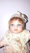 "Vintage Le Bambole di Arianna - Porcelain Doll - Vanesio - Handmade - Italy 6"""