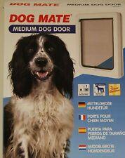 Aleta de Perro Dog Mate 215b Braun 2-Wege Hundentür