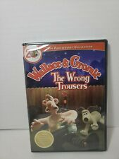 Wallace Gromit - The Wrong Trousers (Dvd, 2009) New