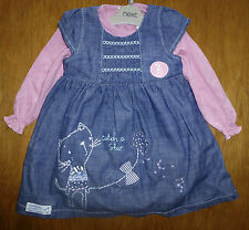 Denim NEXT Outfits & Sets (0-24 Months) for Girls