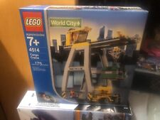 NEW Lego TRAIN 9V World City 4514 Cargo Crane