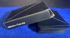MINIM Playing Cards, BLACK, Joe Doucet,  Areaware