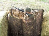 13ftx5ft 3D Leafy English Oak Camo Stealth Pigeon Shooting Wildfowling Hide Net