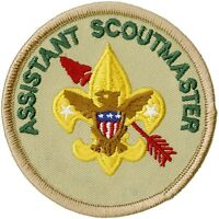 BOY SCOUT OA ORDER OF THE ARROW TROOP ADVISOR ASSISTANT SCOUTMASTER PATCH EMBLEM