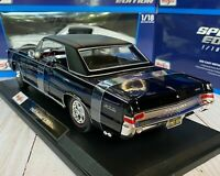 1965 Pontiac GTO Classic Car Maisto 1:18 Scale Diecast Model Car New in Box