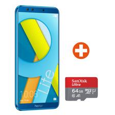 Honor 9 Lite sapphire blue mit Quad-Kamera inkl. 64 GB SanDisk microSDHC