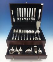 Old Lace by Towle Sterling Silver Flatware Set For 8 Service 52 Pcs Many Servers