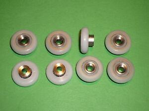 Shower Door Rollers, Wheels, Runners 20 mm x 5.6mm stainless steel SR70 long sft