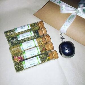 Caley's Apothecary Organic  Loose Tea Blends Selection Gift Set