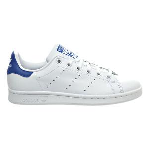 Adidas Stan Smith J Big Kid's Shoes White-Equipment Blue s74778