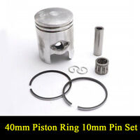 40mm Piston Ring 10mm Pin Set for JOG 50cc, 2-stroke (Minarelli 40mm) Engines